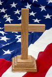 amerykanina krzyż Zdjęcie Stock