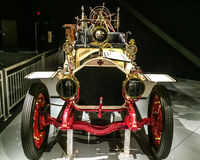 1911 amerykanina LaFrance typ 5 Dwoisty Cysternowy Combo Obrazy Royalty Free