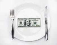 Amerykański dolar amerykański Zdjęcie Royalty Free