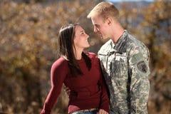 amerykański żołnierz Obraz Royalty Free