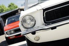 amerykański samochodowy klasyczny musscle Obrazy Royalty Free