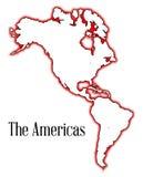 Ameryki Fotografia Stock