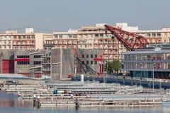 Ameryki filiżanki port w Walencja, Hiszpania Fotografia Royalty Free