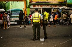 Amet Duarte Street, Santo Domingo Fotografía de archivo