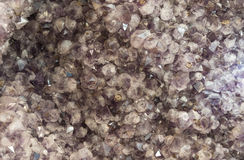Amethis quarts crystals Royalty Free Stock Photo