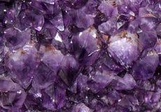 amethyst пурпур предпосылки Стоковая Фотография RF