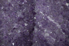 Amethyst. Close up of an amethyst stock images
