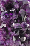 Amethyst Background Stock Photography
