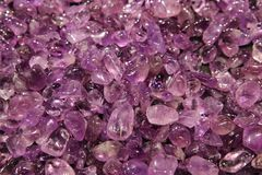 Amethyst background Stock Images