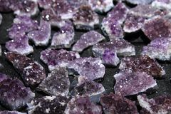 Amethyst background Royalty Free Stock Image