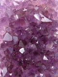 Amethyst carpet Stock Image