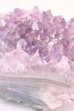 Amethyst - cristal/minerai Photo libre de droits