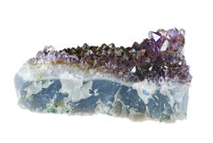 Amethyst Crystal Stock Photography