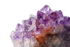 Amethyst crystal Royalty Free Stock Photography