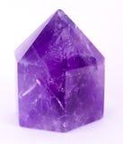 Amethyst Crystal. Beautiful Large Purple Amethyst Crystal stock photos