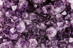 Amethyst Crystal Background Royalty Free Stock Photography