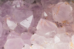 Amethyst crystals Royalty Free Stock Photo