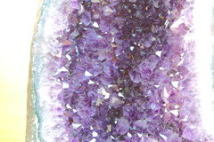 Amethyst-Druse Stockfotos