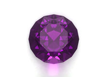 Amethyst gem Royalty Free Stock Photos