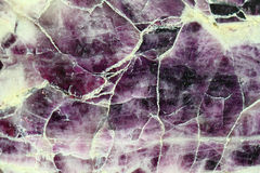 Amethyst gemstone mineral background Stock Photography