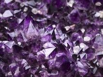 Amethyst geode Stock Photos