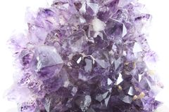 Amethyst geode Stock Photography
