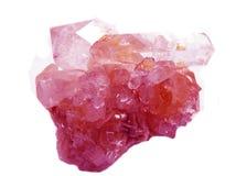 Amethyst geode geologische Kristalle Stockfoto