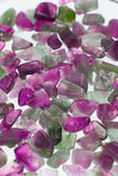 Amethyst gravel necklace Stock Photography