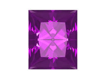 Amethyst isolated on white background Royalty Free Stock Photography