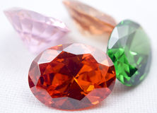 Amethyst Juwelen stockfotos