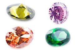 Amethyst Juwelen Lizenzfreies Stockfoto