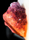 amethyst kristaller Royaltyfri Foto