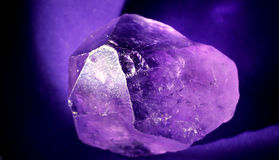 Amethyst Macro Stock Photography