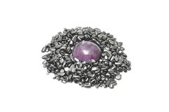 Amethyst mineral Royalty Free Stock Image