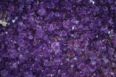Amethyst mineral Royalty Free Stock Photo