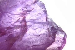 Amethyst mineral background Stock Image
