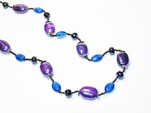 Amethyst necklace Royalty Free Stock Photos