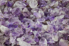 Amethyst points royalty free stock images