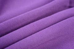 Amethyst purple cloth made by cotton fiber Stock Photo