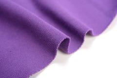Amethyst purple cotton cloth Royalty Free Stock Photos