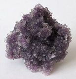 Purple Amethyst crystals Royalty Free Stock Photography