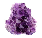 Amethyst quartz Stock Photography