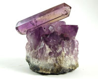 Amethyst quartz Stock Photos