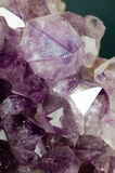 Amethyst quartz Stock Images