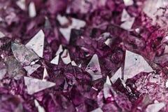 Amethyst quartz Royalty Free Stock Photo
