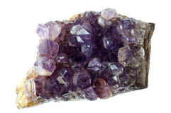 Amethyst quartz Royalty Free Stock Photos