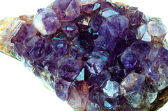 Amethyst quartz Royalty Free Stock Photography