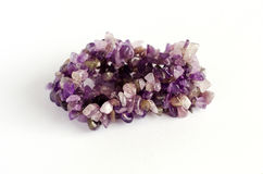 Amethyst stone Stock Photography