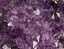 Amethyst texture Stock Image