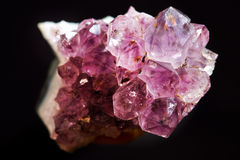 Amethyst two Royalty Free Stock Photo